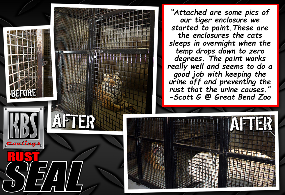 RustSeal - Rust Prevention - Tiger Cage